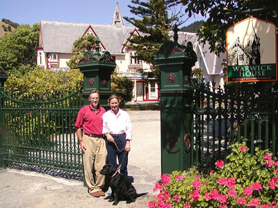Nick and Jenny Front Gate