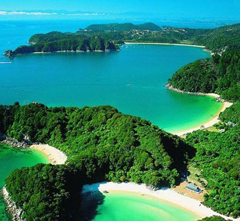 View over Abel Tasman
